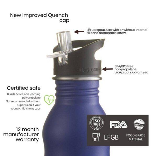 Бутилка от неръждаема стомана 350 мл - One Green Bottle