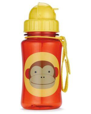 """Детска бутилка със сламка """"Маймунка"""" - Skip Hop"""