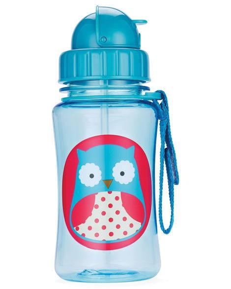 """Детска бутилка със сламка """"Бухалче"""" - Skip Hop"""