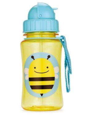 """Детска бутилка със сламка """"Пчеличка"""" - Skip Hop"""