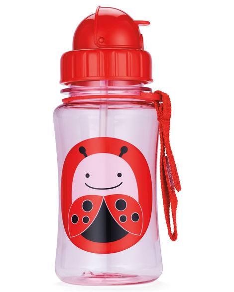 """Детска бутилка със сламка """"Калинка"""" - Skip Hop"""