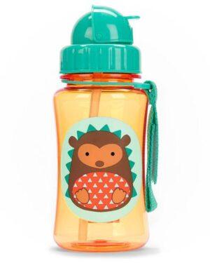 """Детска бутилка със сламка """"Таралеж"""" - Skip Hop"""