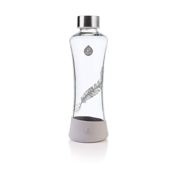 """Стъклена бутилка """"Перо"""" 550 мл - EQUA"""