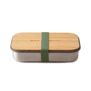 Кутия за сандвичи от стомана, маслина - Black+Blum