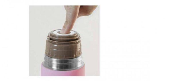 Термос с меко покритие 500 мл розов - Miniland
