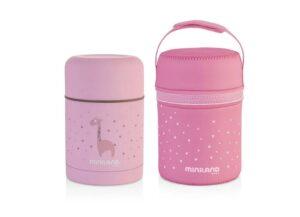 Термос за храна 600 мл розов - Miniland