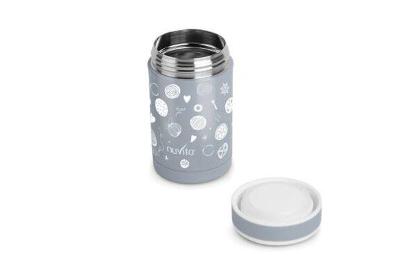 Термос за храна от неръждаема стомана 500 мл - Nuvita
