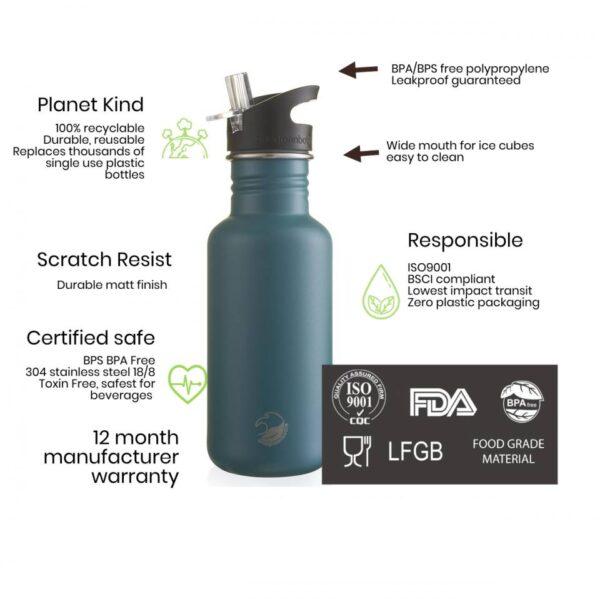 Бутилка от неръждаема стомана 1200 мл - One Green Bottle