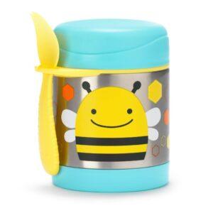"""Термос за храна от неръждаема стомана """"Пчеличка"""" 325 мл - Skip Hop"""