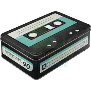 """Метална кутия за съхранение L """"КАСЕТА"""" - Nostalgic Art"""