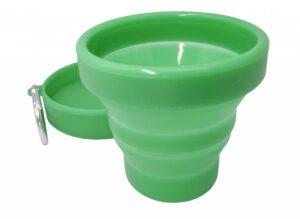 Сгъваема силиконова чаша 150 мл. - Vin Bouquet/ Nerthus