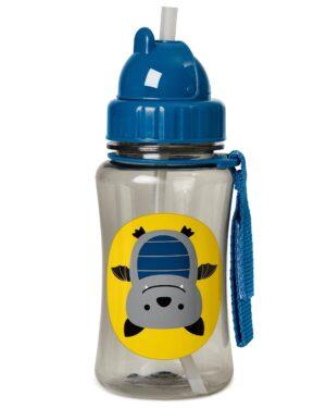"""Детска бутилка със сламка """"Прилепче"""" - Skip Hop"""