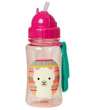 """Детска бутилка със сламка """"Лама"""" - Skip Hop"""