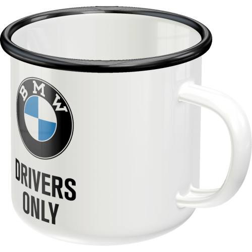 Емайлирано канче BMW Drivers Only - Nostalgic Art