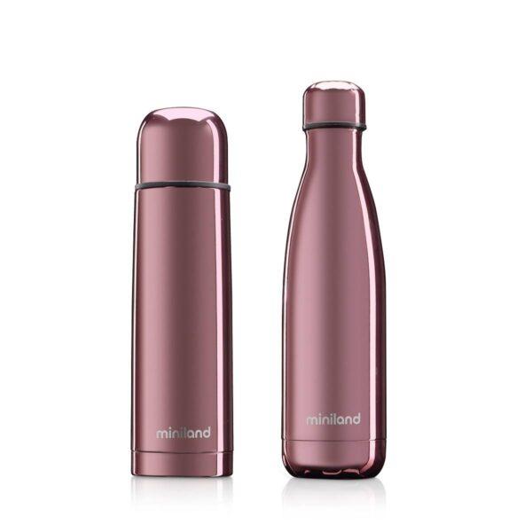 "Комплект термос и термо бутилка ""myBaby&me"" 500 мл розов - Miniland"