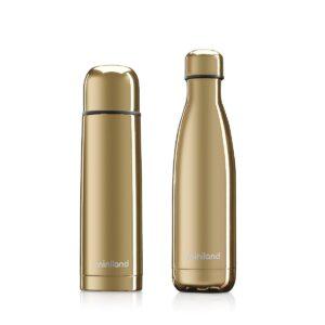 "Комплект термос и термо бутилка ""myBaby&me"" 500 мл злат - Miniland"