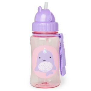 """Детска бутилка със сламка """"Нарвал"""" - Skip Hop"""