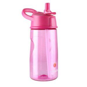 Неразливна бутилка за вода 550 мл, розова - LittleLife