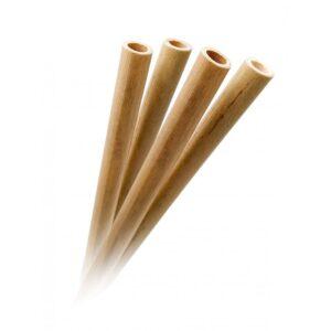 Бамбукови сламки 4 бр. с четка за почистване - Vin Bouquet