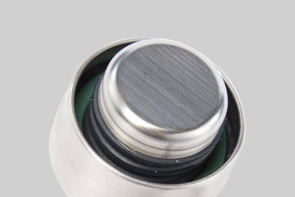 Стъклена бутилка 600 мл със силиконов калъф, океан - Black+Blum