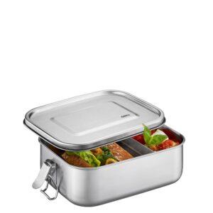 Стоманена кутия за храна с разделител ENDURE малка - Gefu