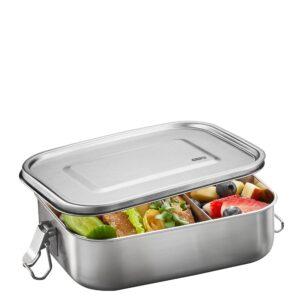 Стоманена кутия за храна с разделител ENDURE голяма - Gefu