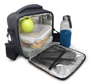 Термоизолираща чанта за храна сива - Nerthus