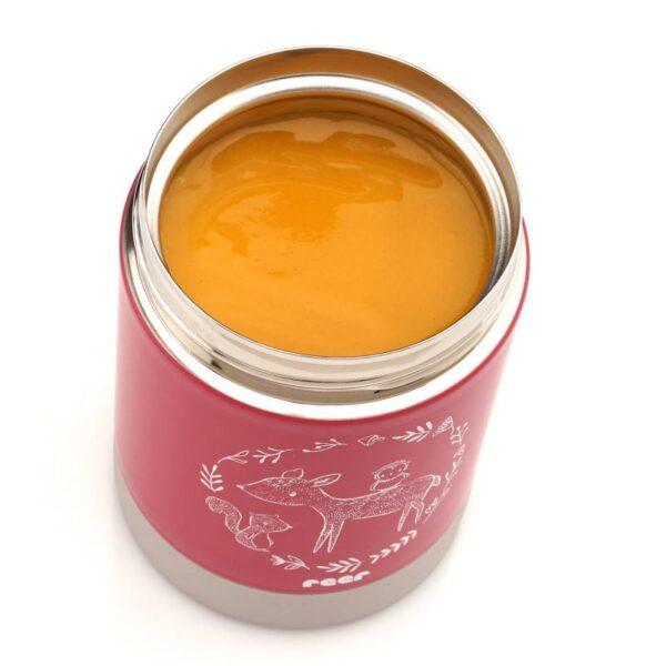 Термос за храна ColourDesign 350 мл розов - Reer