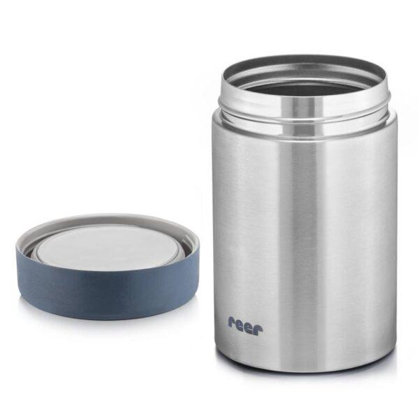 Термос за храна 300 мл сребърен - Reer
