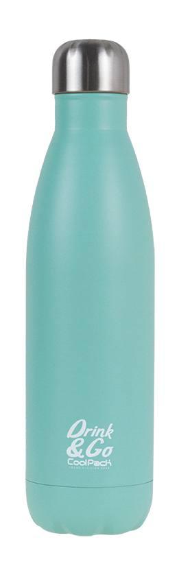 Термо бутилка пастелно зелено - Colorino