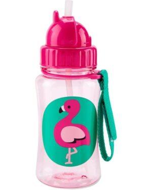 """Детска бутилка със сламка """"Фламинго"""" - Skip Hop"""