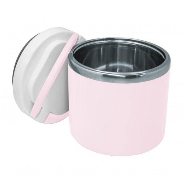 "Термос за храна ""Пастелно розово"" 700 мл - Nerthus"