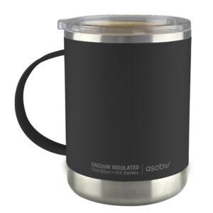 """Термо чаша с керамично покритие """"ULTIMATE"""" 360 мл черна - Asobu"""