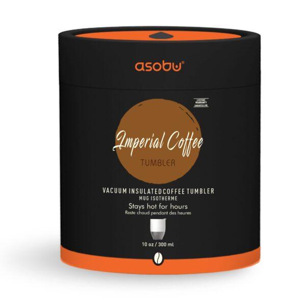 "Термо чаша ""IMPERIAL COFFEЕ"" 300 мл цветя - Asobu"