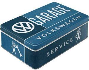 """Метална кутия за съхранение L """"VW ГАРАЖ"""" - Nostalgic Art"""