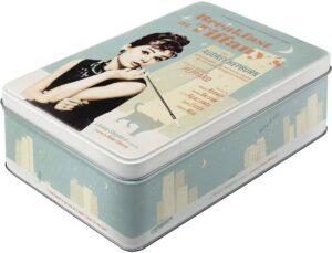 """Метална кутия за съхранение L ЗАКУСКА В ТИФАНИ"""" - Nostalgic Art"""