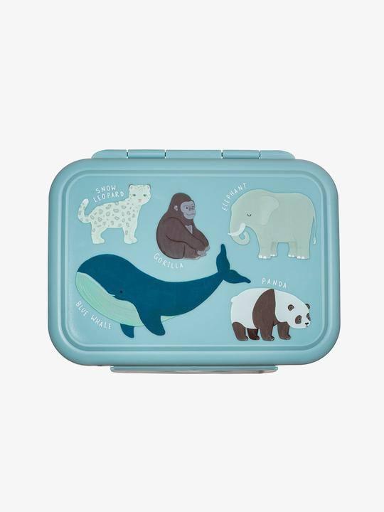 Кутия за храна от неръждаема стомана с разделител - Sass & Belle